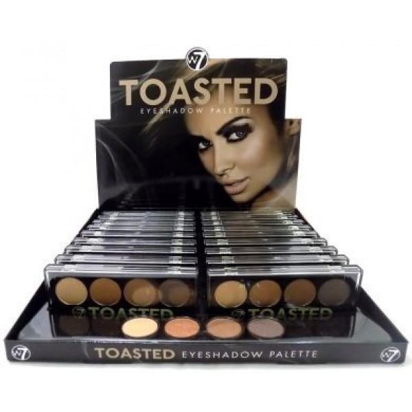 W7 Toasted Eyeshadow Palette