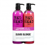 Tigi Bed Head Dumb Blonde Duo 2X750ml