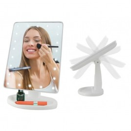 Make-up peegel , led tuledega