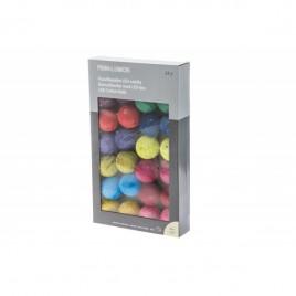 Puuvillast Led valguspallid adapteriga 24 palli
