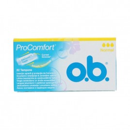 O.B tampoonid Pro Comford Normal 32 tk