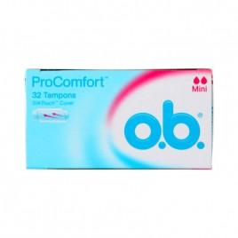 O.B tampoonid Pro Comfort Mini 32 tk
