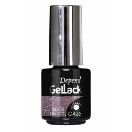 Depend geellakk GelLack  Silver Lining 5ml