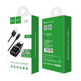 Hoco usb laadimisjuhe +adapter Iphone 2,4A