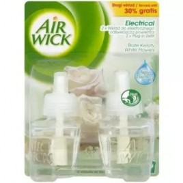Air Wick electical täited White flowers  2x19ml