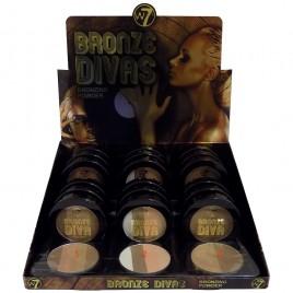 W7 Bronze Divas Bronzing Powder 10g