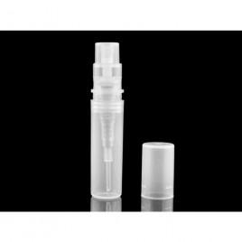 Parfüümipudel pihustiga 2 ml