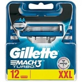 Gillette Mach3 Turbo 12 tera