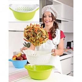 Köögikauss + sõel 2,5 L