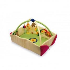 Imikute päevatekk äärtega ja mänguasjadega