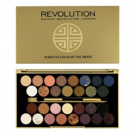 MAKEUP REVOLUTION Fortune Favours The Brave Eyeshadow Palette 16g