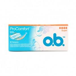 O.B tampoonid Pro Comfort Super 16 tk