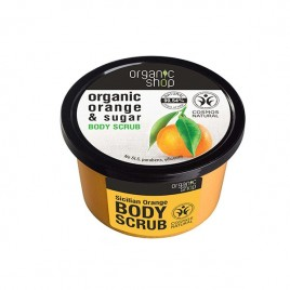 ORGANIC SHOP Orange & Sugar Body Scrub 250ml