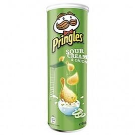 Pringels koore ja sibulaga 165 g