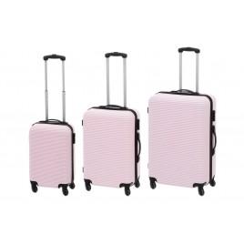 Reisikohver Acces erinevad suurused , heleroosa