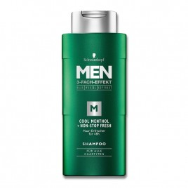 Schwarzkopf Men Shampoo Cool Menthol 250ml