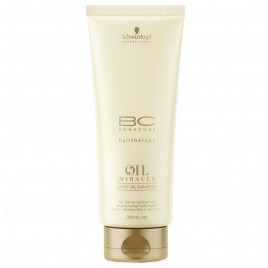 Schwarzkopf Professional BC Oil Miracle Light Oil Shampoo 200ml