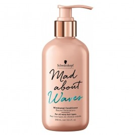 SCHWARZKOPF PROFESSIONAL Mad About Waves Windswept Conditioner 250ml