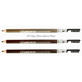 W7 Super Brows Eyebrow Pencil, kulmupliiats+pinsel