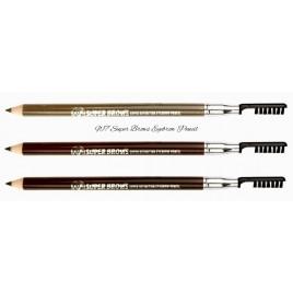 W7 Super Brows Eyebrow Pencil, kulmupliiats+pinsel