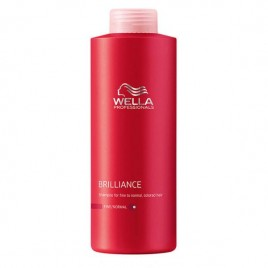 Wella Professionals Brilliance Shampoo (Fine/Normal Hair) 1000ml