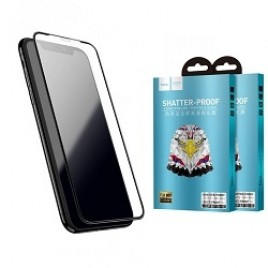 Kaitseklaas iphone XR musta raamiga