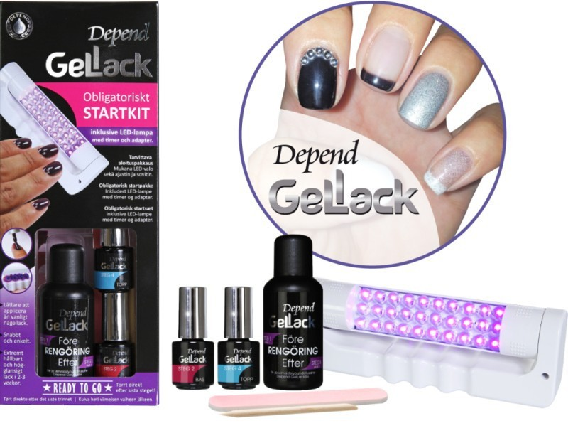 Depend GelLack Start Kit