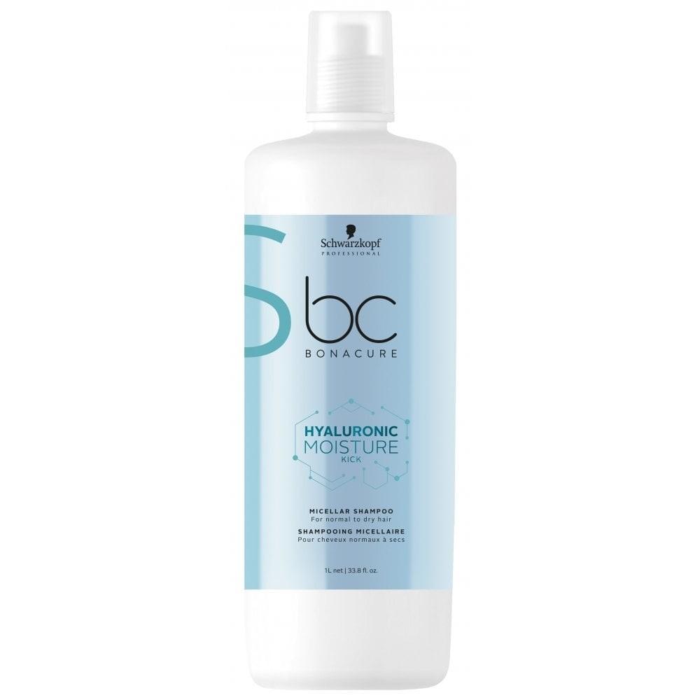 ca407671a78 Schwarzkopf Professional BC Hyaluronic Moisture Kick Micellar Shampoo 1000ml